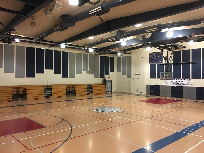 Haven Drive Middle School - Inside Gym