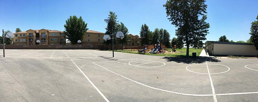 Bear Mountain Elementary Basketball Courts