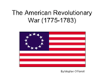 Link to the american revolutionary