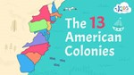 Link to the 13 american colonies