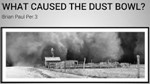 Link to what caused the dust bowl